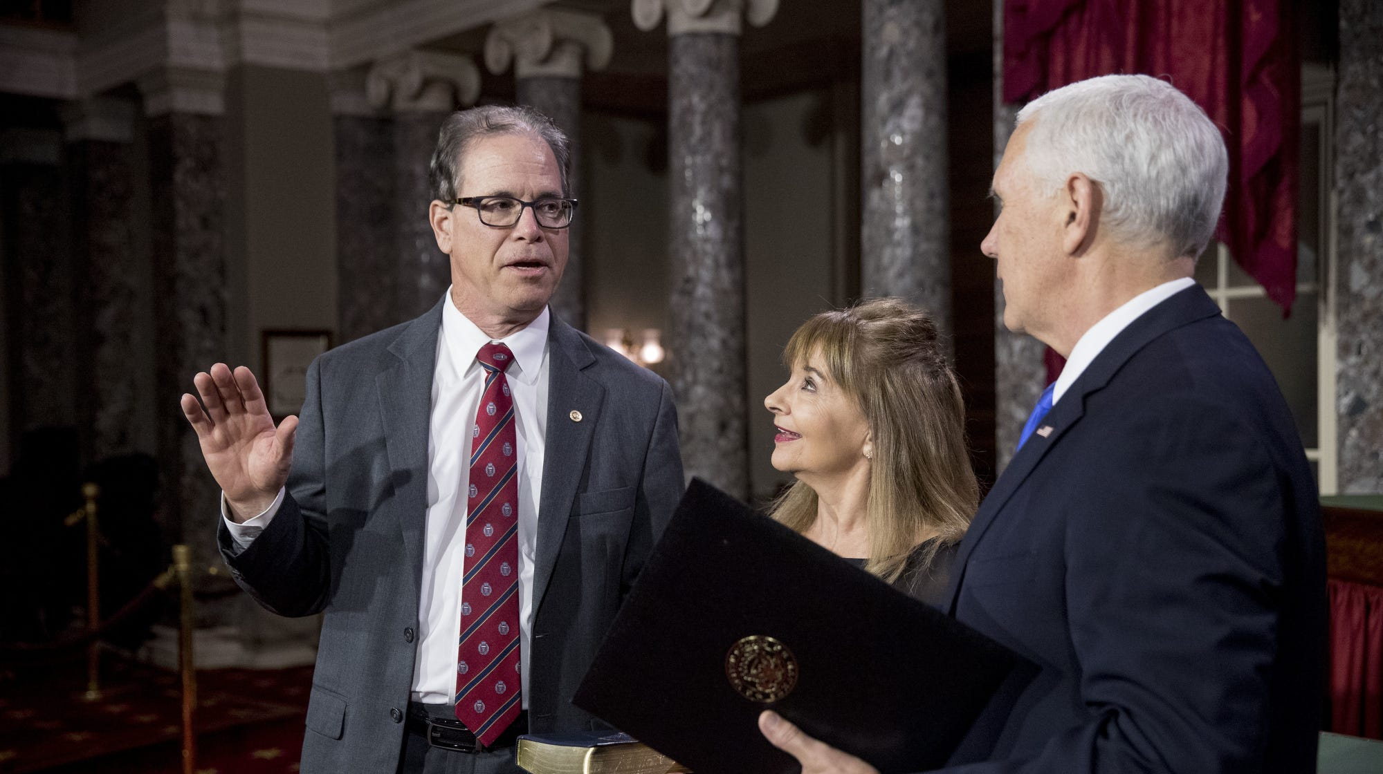 Why Indiana's Mike Braun broke with most Senate Republicans on federal budget, wall funding