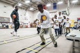 Pacers guard Victor Oladipo talks giving back during surprise visit at  Concord Neighborhood Center on Monday, Jan. 14, 2019.