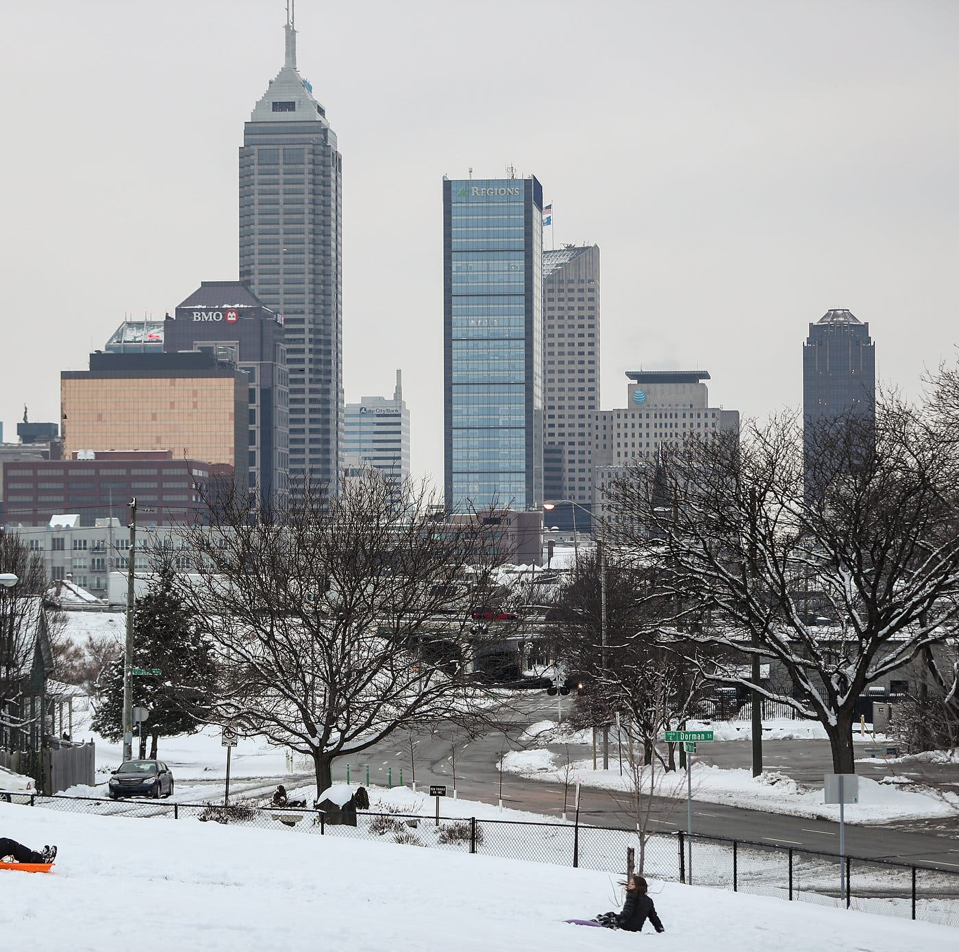 Indianapolis weather: Below-zero wind chills, dangerous wind gusts leave Indy on ice