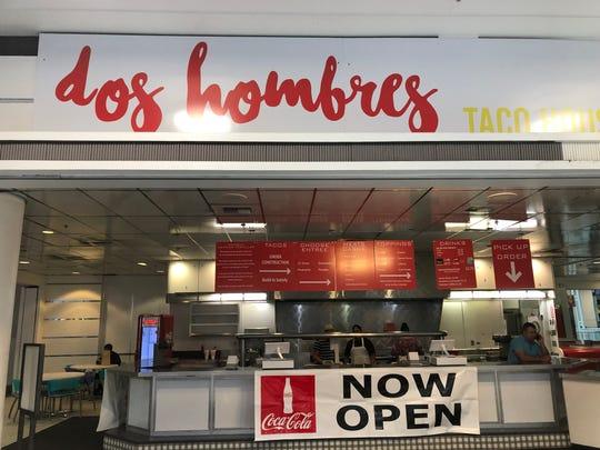 Dos Hombres Taco House in Circle Centre Mall