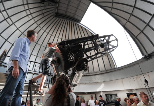 Butler University's Holcomb Observatory, built in 1954, features a a 38-inch Cassegrain reflector — the largest telescope in Indiana.