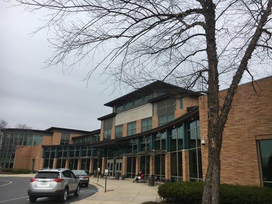 Carmel Public Library in March 2017