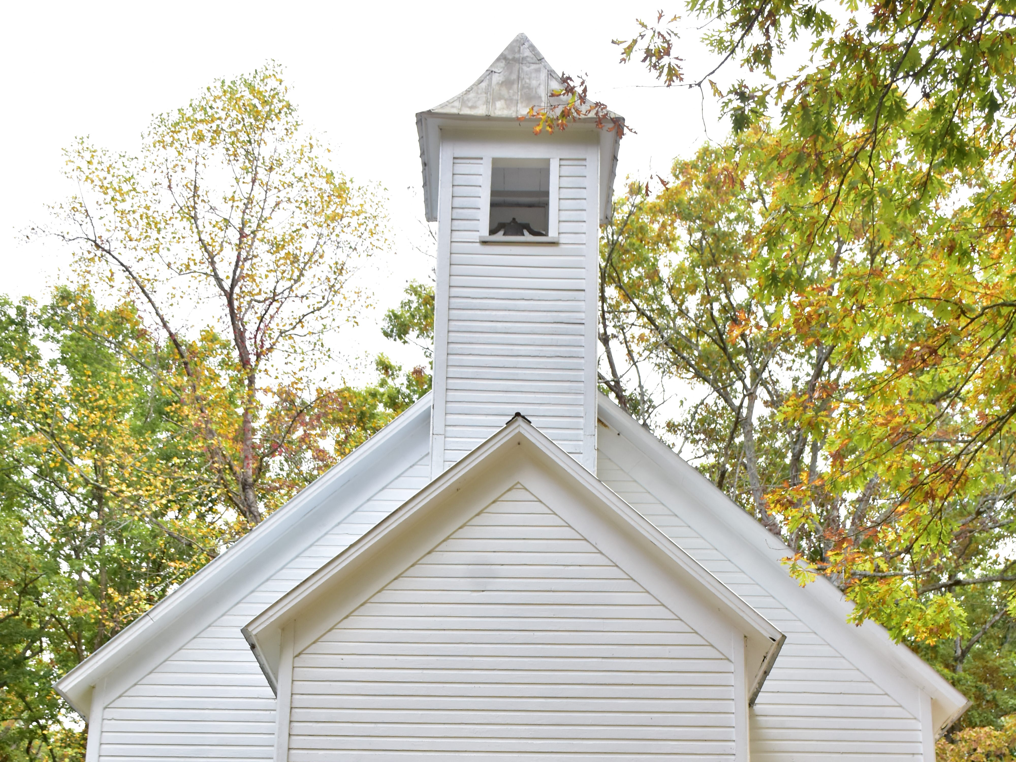 Missionary Baptist Church in Cades Cove, Great Smokey Mountains.