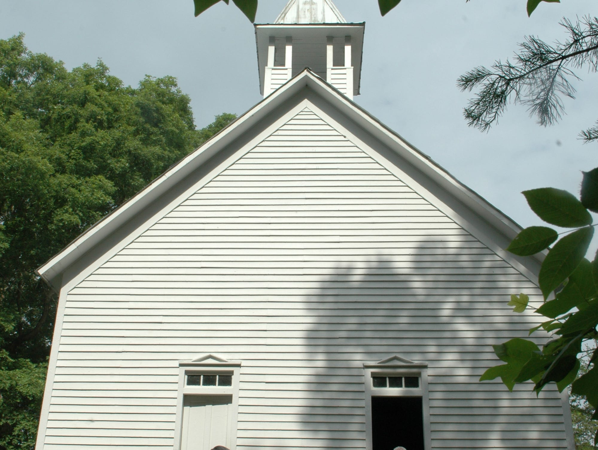 Cades Cove's Primitive Baptist Church in the Great Smoky Mountain National Park.