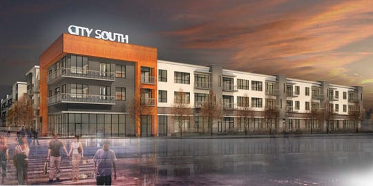 City South will be the first mixed-use apartment development on Sevier Ave. It will be located next to Honeybee Coffee and is slated to break ground in spring 2019.