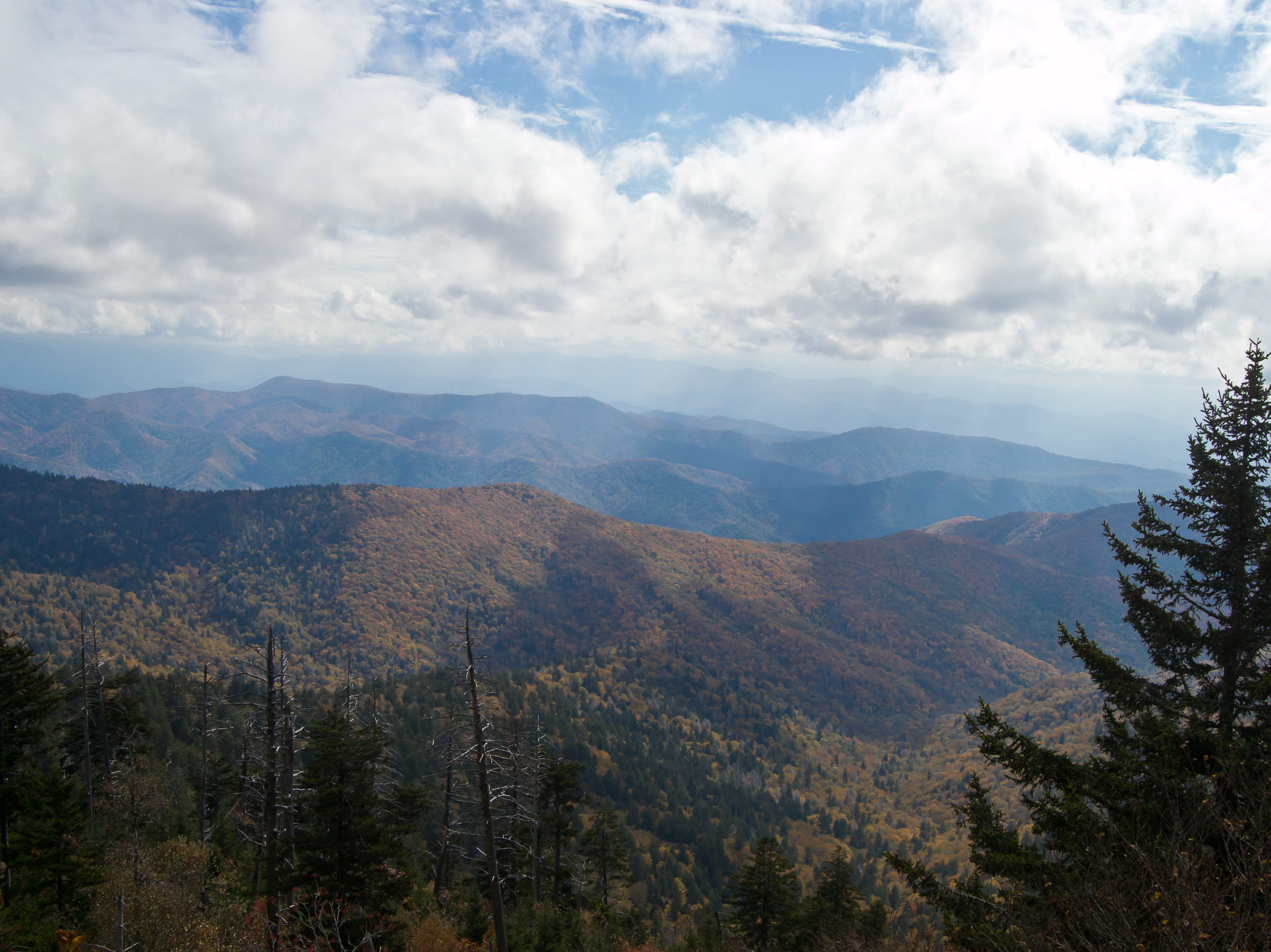 The Great Smokey Mountains National Park, October, 2011.