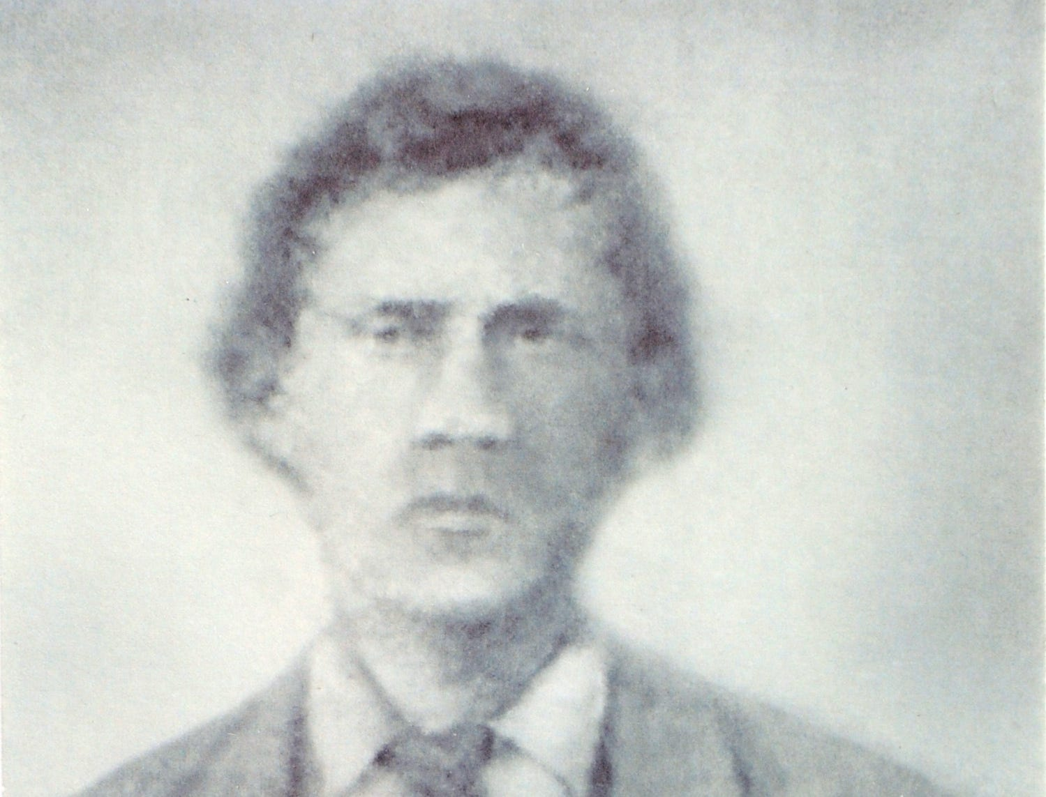 This undated photo is believed to be of former Cades Cove resident Russell Gregory.  Gregory's Bald in the Great Smoky Mountains National Park is named for Gregory who is believed to have been killed by North Carolina rebels in Cades Cove in 1864.