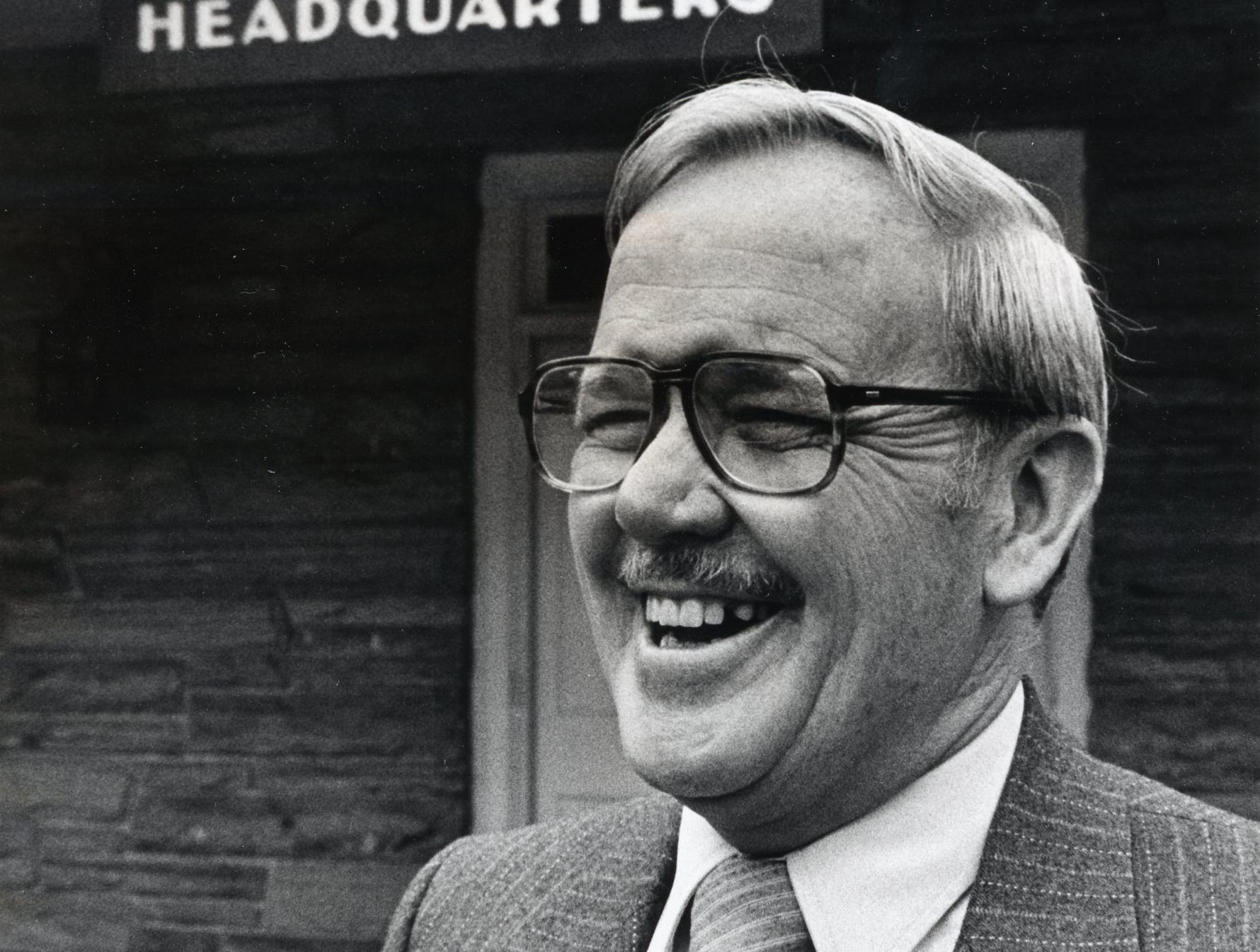 Randall Pope, the new superintendent of the Great Smokey Mountains National Park, February, 1987.