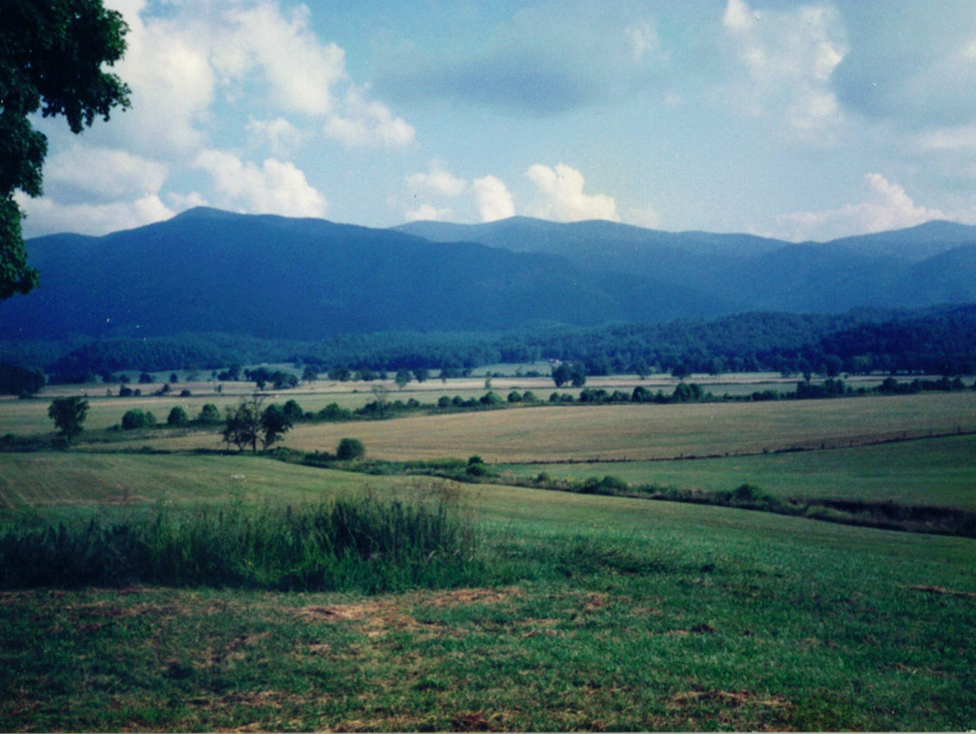 A beautiful view from Cades Cove in the Great Smokey Mountains National Park.