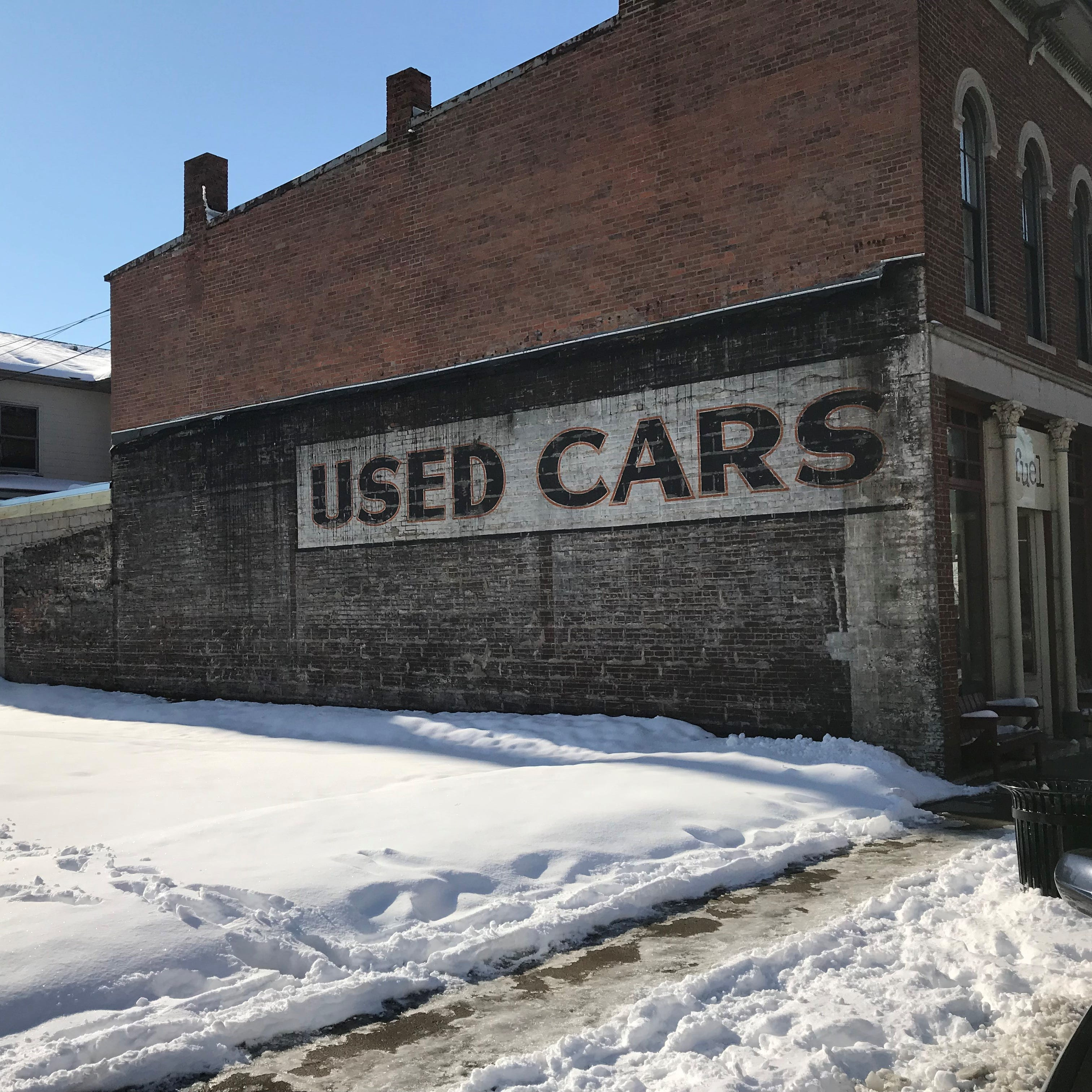 Bangert: Demolition uncovers 'Used Cars,' a relic of downtown Lafayette advertising