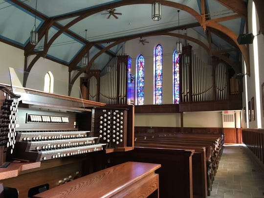 St. John's Episcopal Church will celebrate the installation of an 1,800-pipe Quimby organ with a concert on Feb. 1.