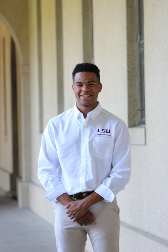 Stewart Lockett, 22, is a New Iberia native and student body president at Louisiana State University. He will graduate in May with a degree in biological engineering.