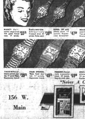 This ad is from the Nov. 12, 1953 Lancaster Eagle-Gazette.