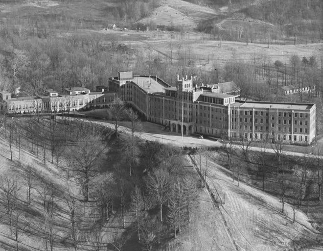 Waverly Hills Sanatorium by air. Dec. 9, 1938