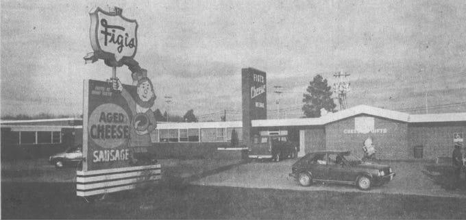 The Figi's Retail Store, 2525 S. Roddis Ave., in Marshfield, in a Nov. 8, 1986, photo.