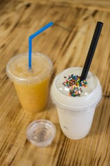 January 14 2019 - Nutrition Hub serves meal-replacement shakes, aloe shots, and energy teas.