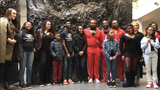 A small group of WWE superstars and Boys & Girls Club of Greater Memphis children toured the National Civil Rights Museum in Memphis Monday.