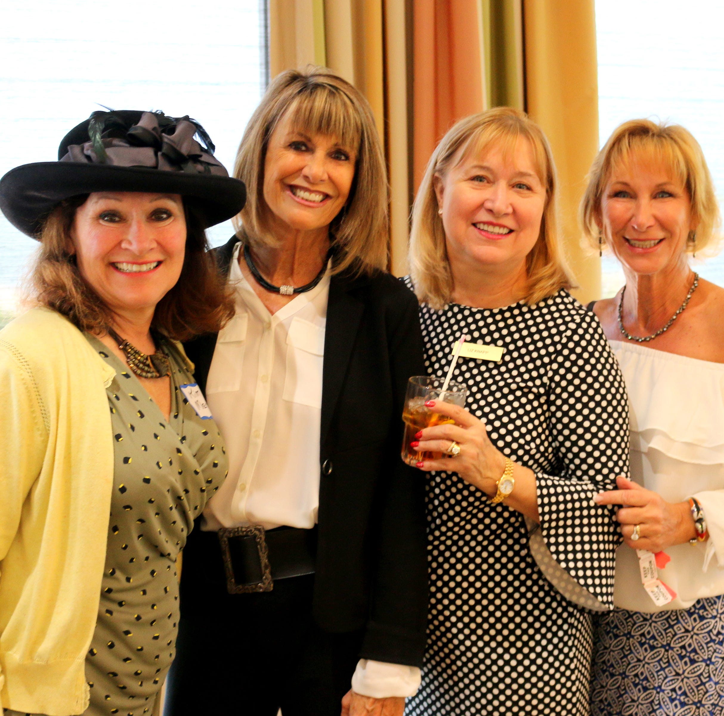 Social Scene: Newcomers were captivated by tales of world travel at January luncheon