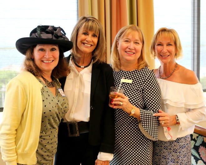 From left, Kim Merkl, Flo Toczik, Liz Knapp and Michele Senda.