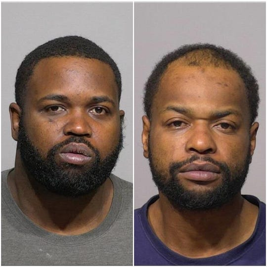 Johnathan J. Moore (left) and Jermaine L. Moore have been charged in connection with seven retail theft cases across southeast Wisconsin.