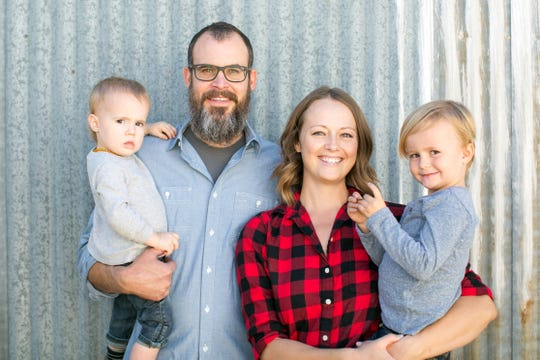 Rob and Sarah Hammelman's family includes August (left), now 3, and Levi, now 5.