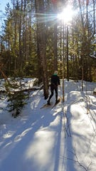 The Raven Trails in the Northern Highland American Legion State Forest near Woodruff have designated trails for snowshoeing.