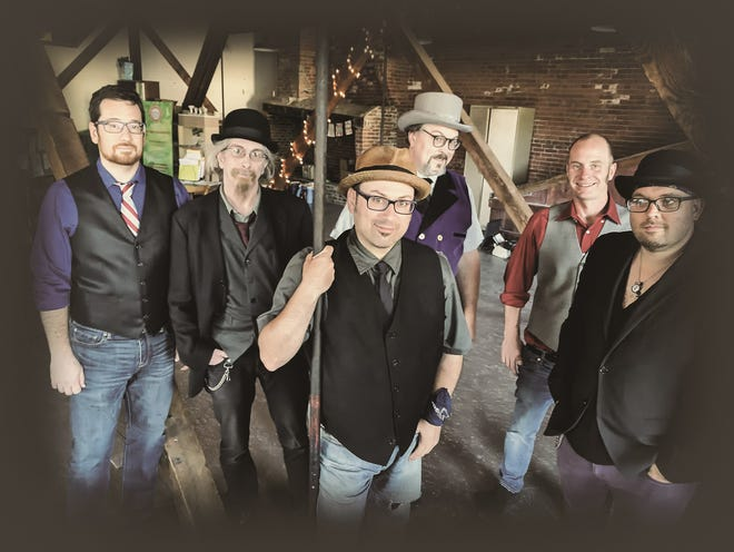 Scott Wolfson & Other Heroes, an eclectic ensemble that draws from musical styles from Broadway to Dixieland jazz, will play the Investors Savings Bank Theatre in Roxbury on Sunday, Jan. 20.