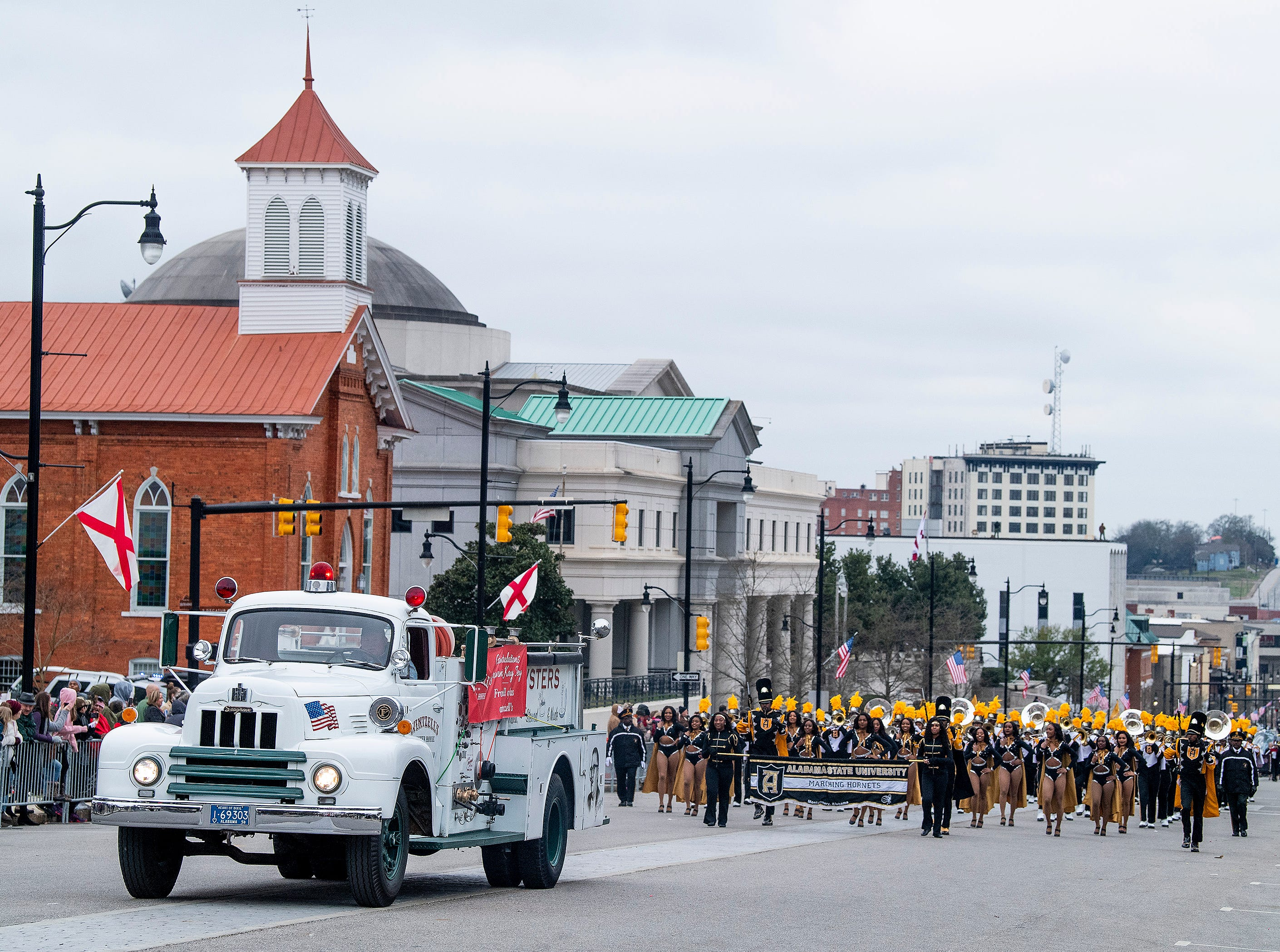 The Inauguration Parade for Governor Kay Ivey in Montgomery, Ala., on Monday January 14, 2019.