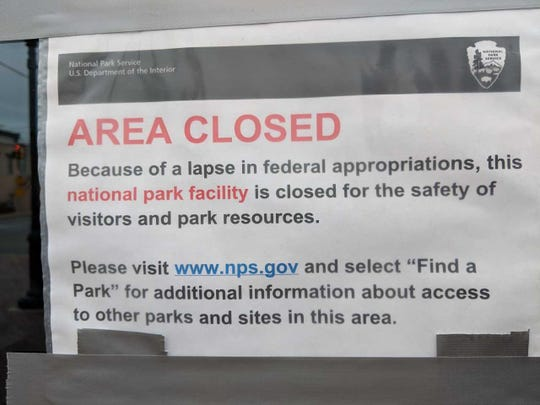 Operated by the National Park Service, the Selma Interpretive Center is closed during the partial federal government shutdown.