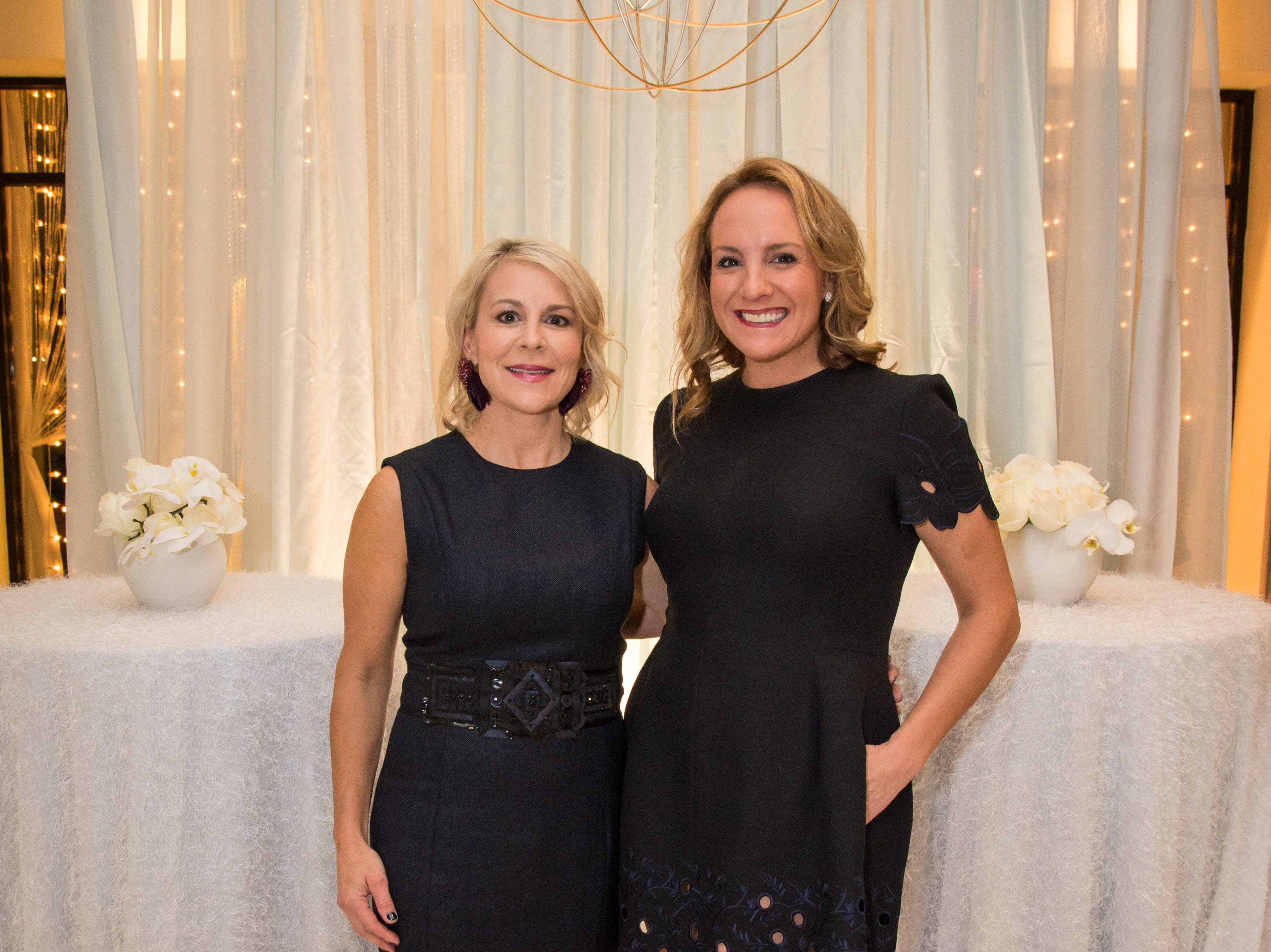 Allison Schaufele, left, and Cynthia Arnholt, 2019 Symphony Fashion Show chairmen