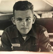 Roy Patterson, as an 18-year-old American soldier stationed at the base in Nha Trang during the Vietnam War.