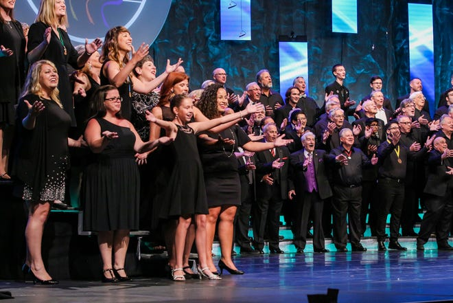 The Barbershop Harmony Society is holding its Midwinter Convention in Nashville this week.