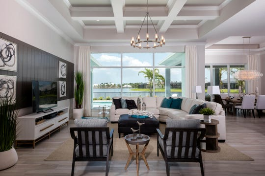 Key Largo at Naples Reserve, offers waterfront living with beautiful views.