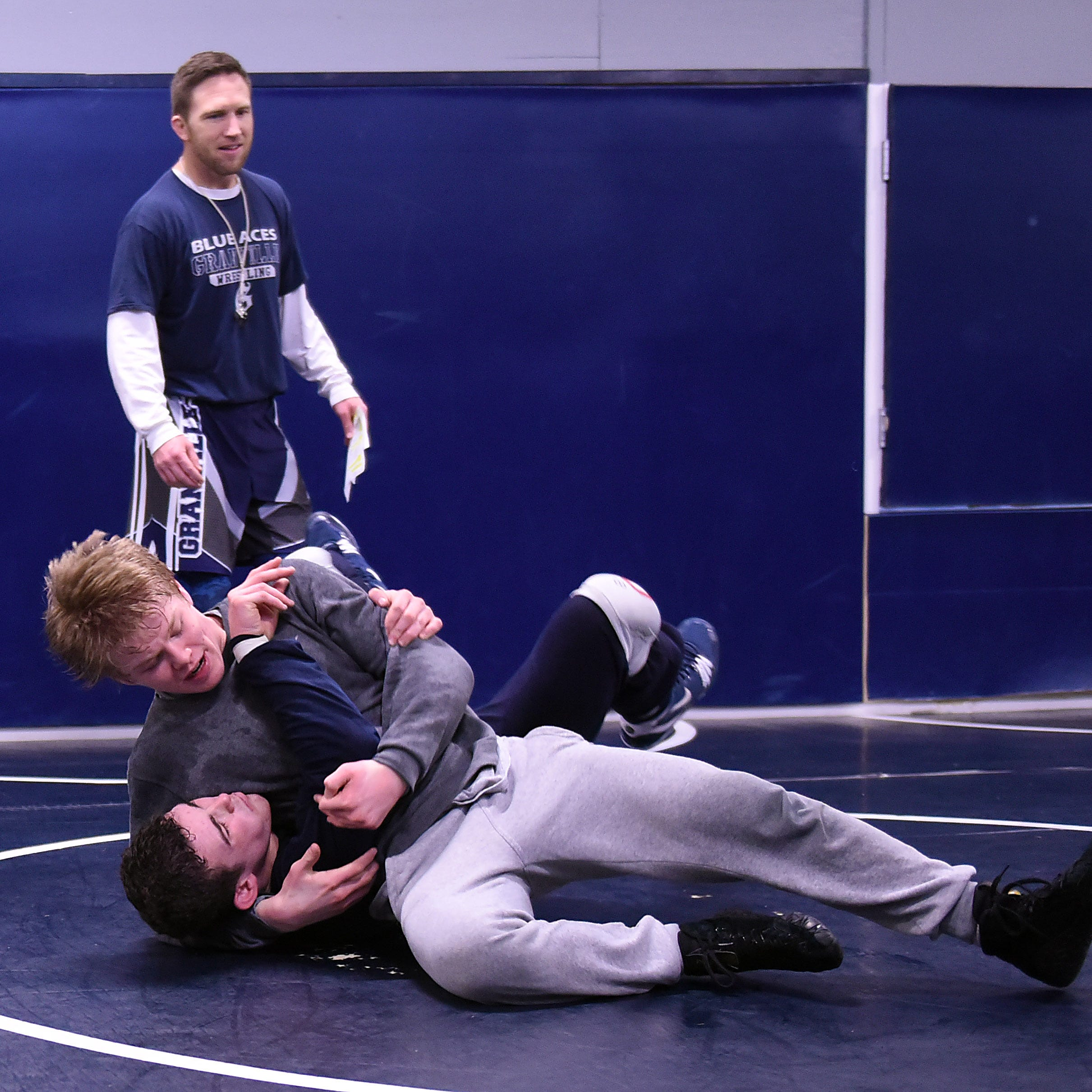 Granville wrestling standouts getting most out of grind
