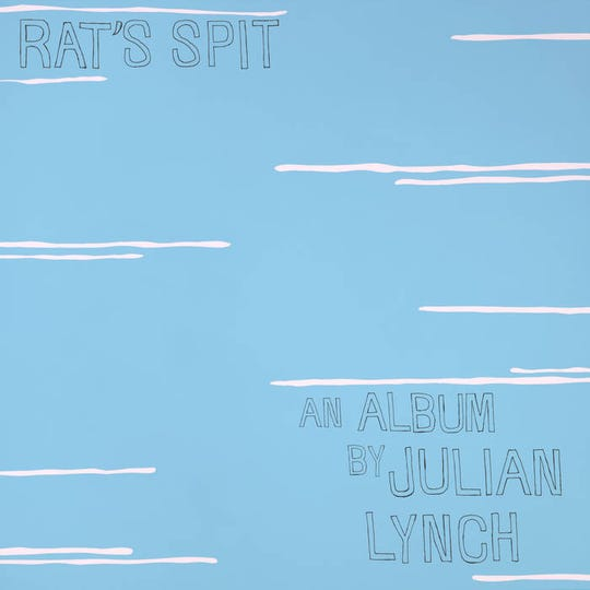 "Cover art for the Julian Lynch solo album ""Rat's Spit."""
