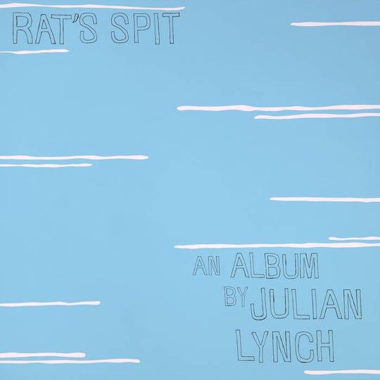 "Cover art for the Julian Lynch solo album ""Rat's Spit."""