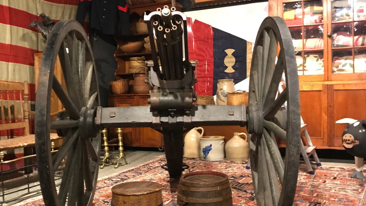 North Jersey auction to include rare Civil War Gatling gun