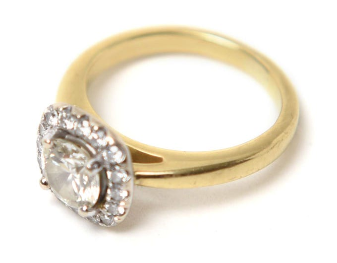 Engagement ring: My most prized possession. It's perfectly made for me and mixes my love of old-school and new. My fiance, Tim, used his mother's stone and designed it himself with the help of Khalil at Amir Jewelers in Washington Township; Kendall Marie Zoppa (201) Personal Style