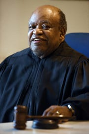 Teaneck Judge James Young retired after thirty years on the bench..