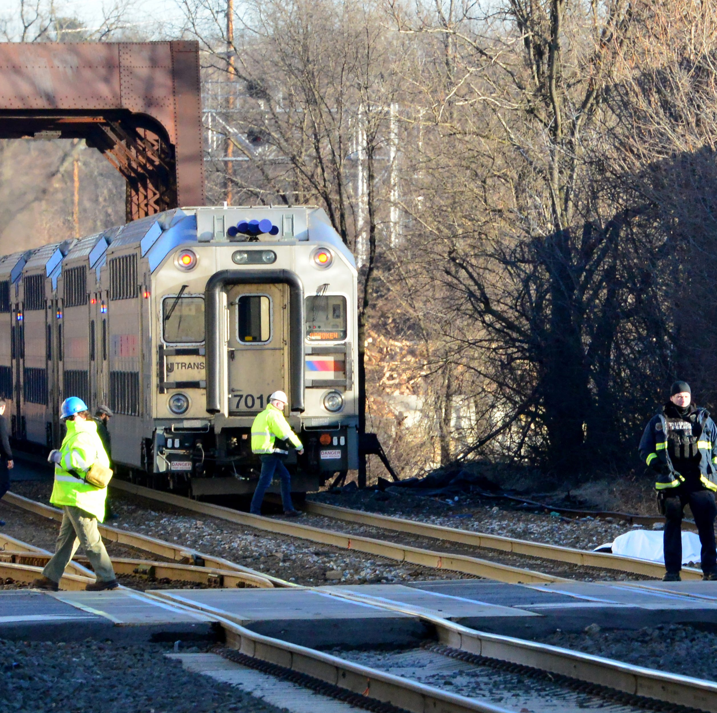 Person struck, killed by train in Paterson