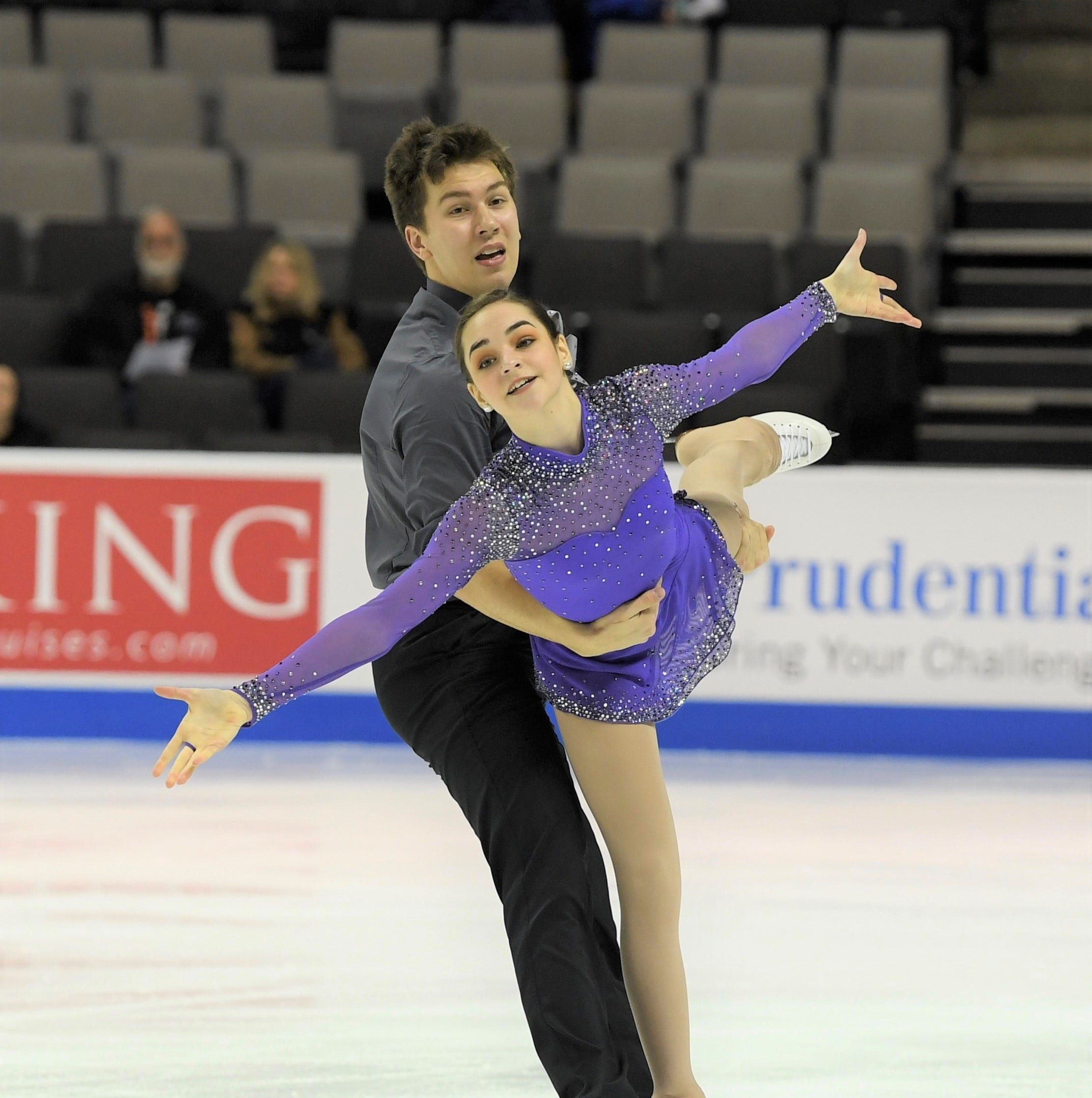 Pairs skaters DeWyre, Nussle hot and ready for U.S. Nationals at Little Caesars