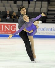 The team of Jacob Nussle and Cora DeWyre are coming off a fifth-place finish at the Midwestern Sectionals.