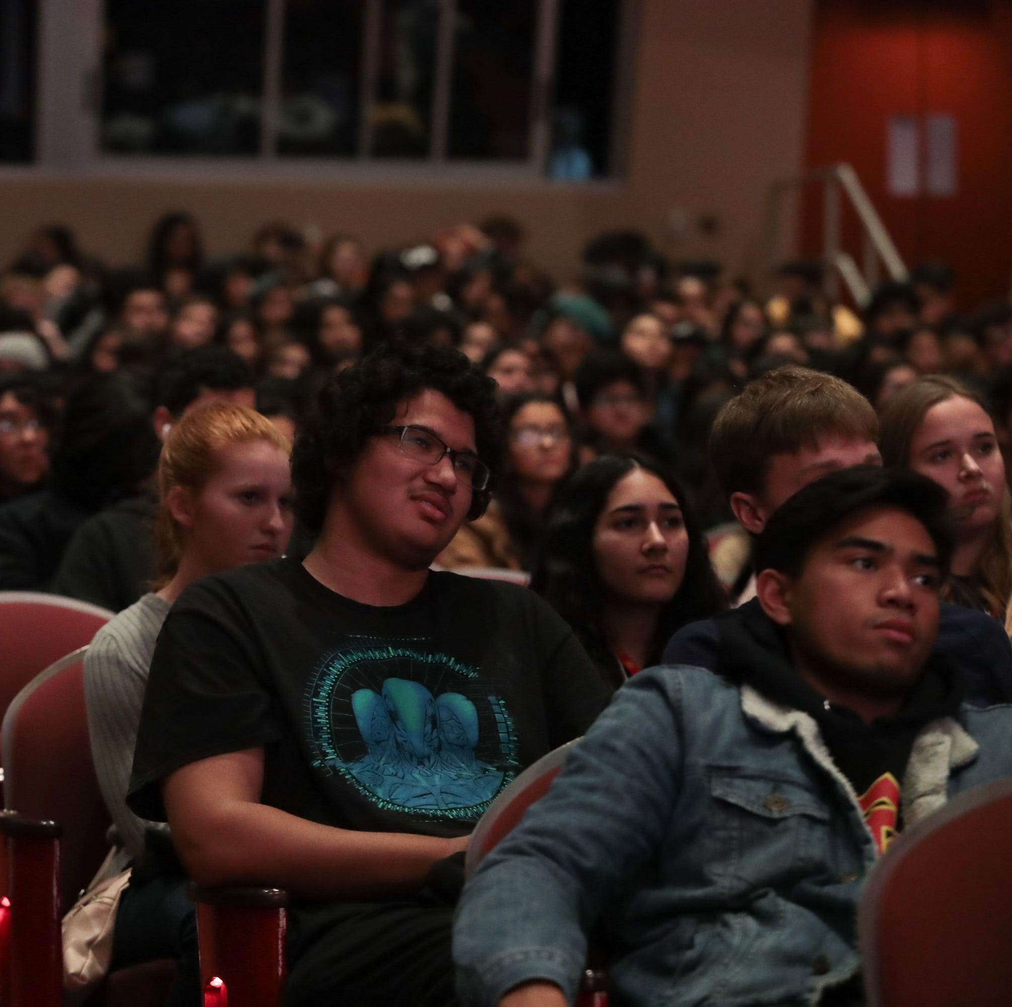 Palm Springs film festival gathers students for unique 'communal cinema experience'