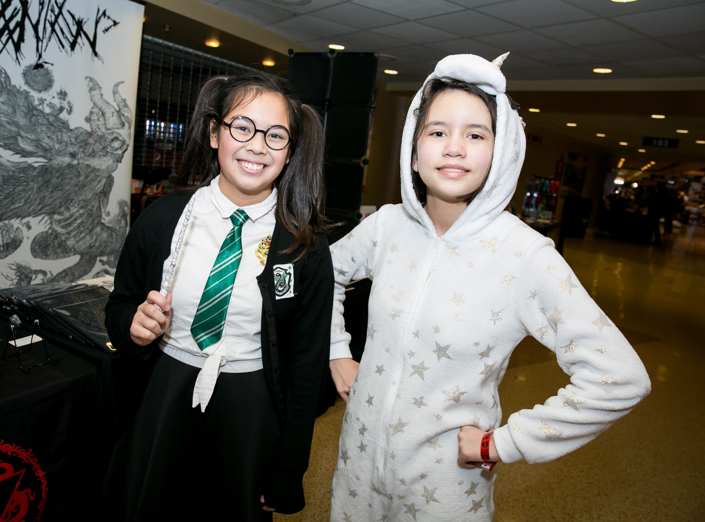 Witches and unicorns got along great during Ace Comic Con at Gila River Arena in Glendale on Sunday, Jan. 13, 2019.