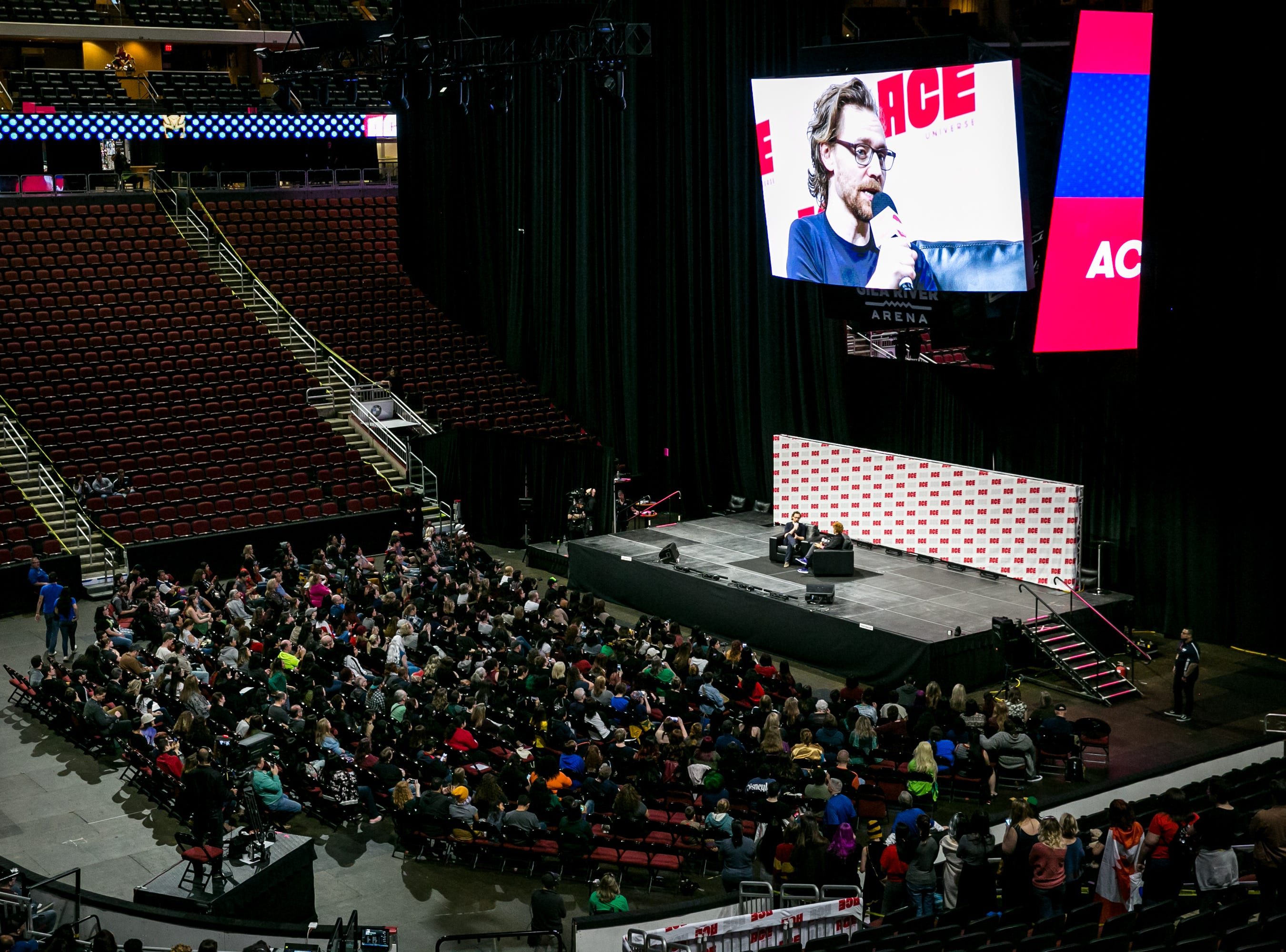 Tom Hiddleston was a highlight of the weekend during Ace Comic Con at Gila River Arena in Glendale on Sunday, Jan. 13, 2019.