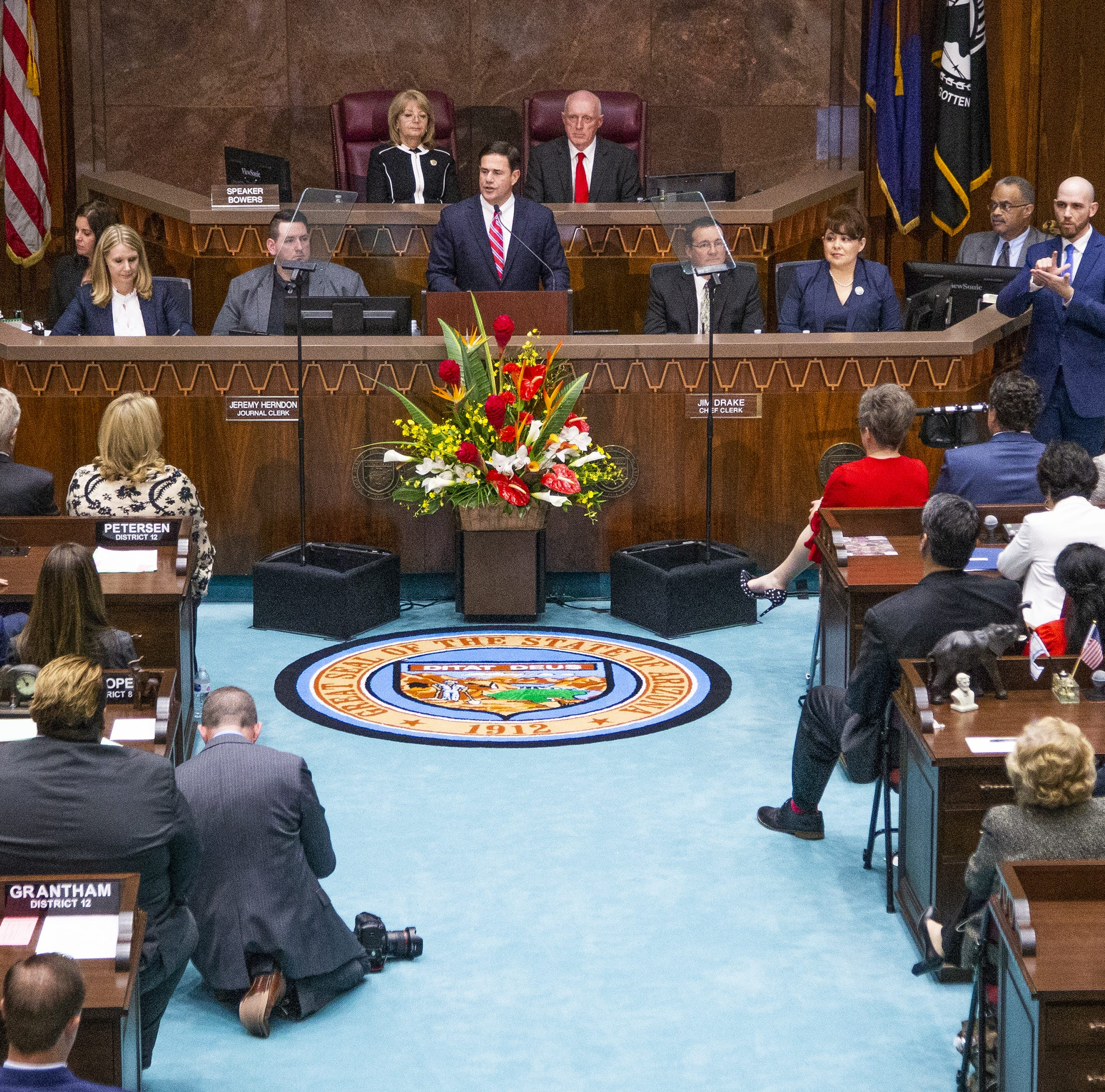 A state budget fight is brewing at the Arizona Capitol — governor, Republican lawmakers at odds