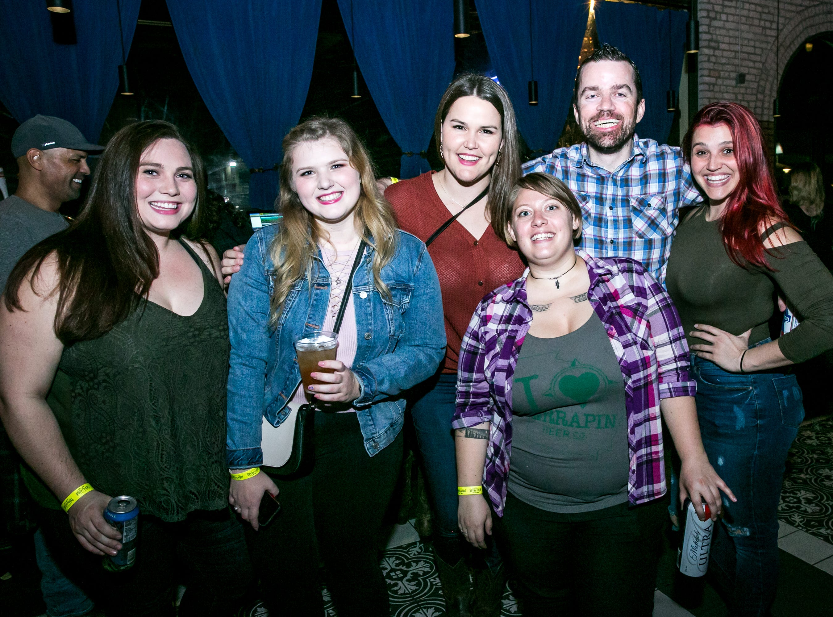 These guys lived it up during the KMLE Country 90's Throwback at The Van Buren on Friday, Jan. 11, 2019.