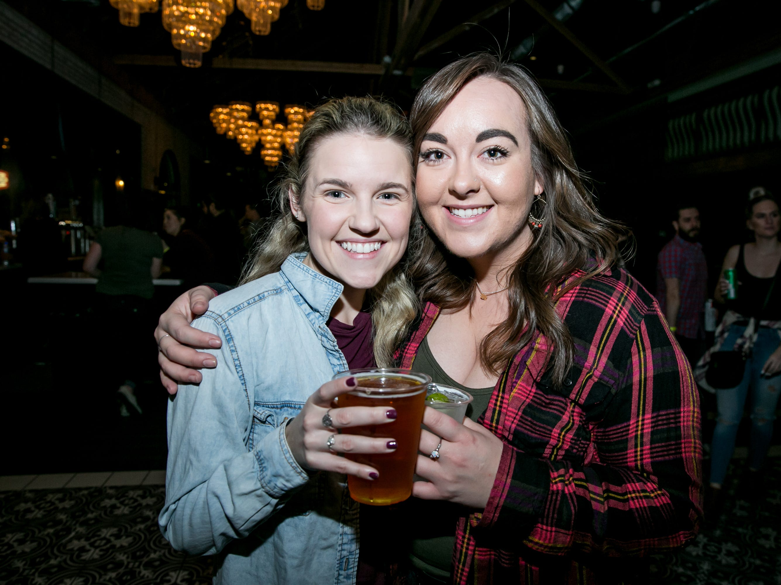 These gals channeled a little Shania during the KMLE Country 90's Throwback at The Van Buren on Friday, Jan. 11, 2019.
