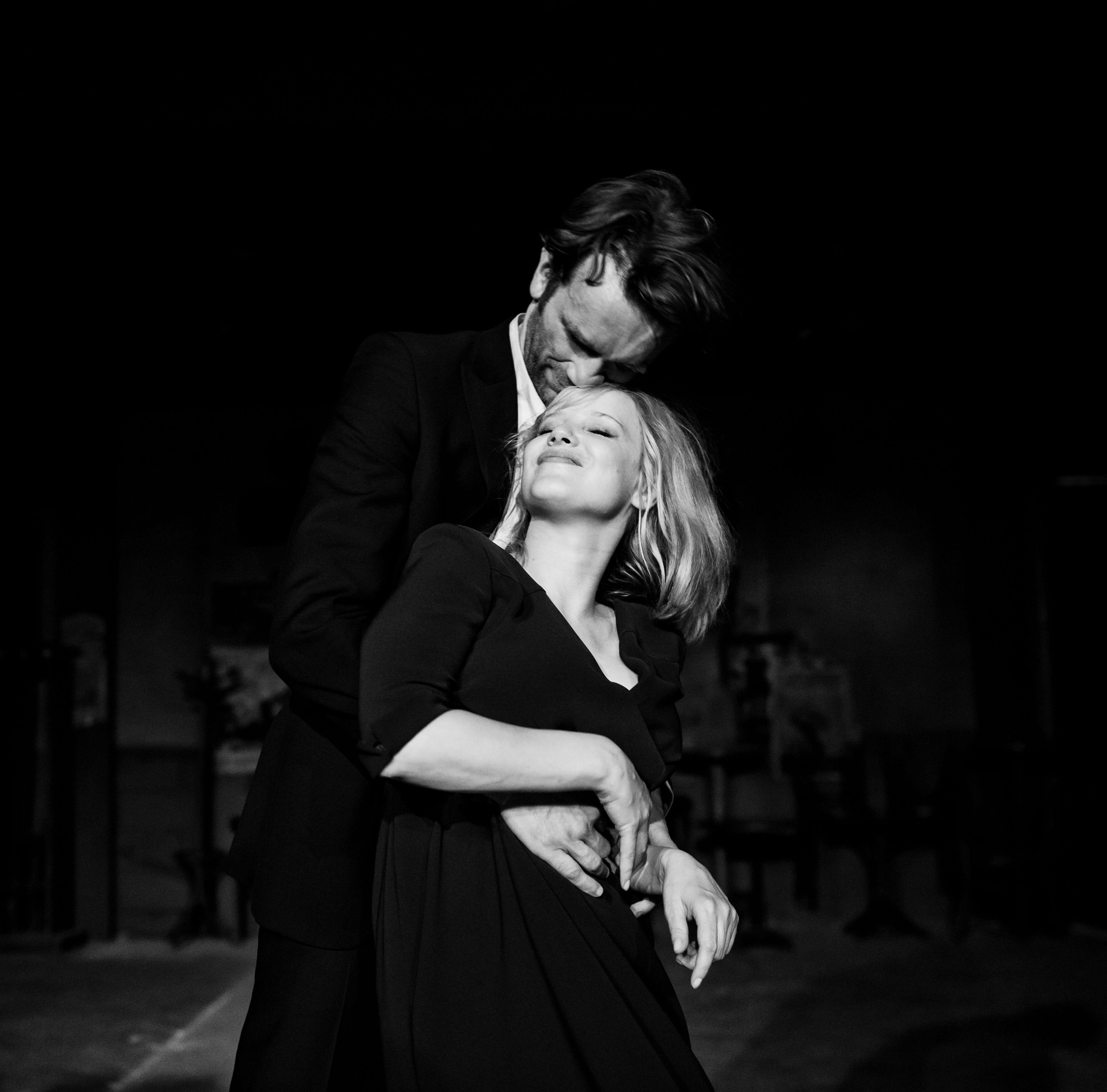 "Tomasz Kot as Wiktor and Joanna Kulig as Zula in ""Cold War."""