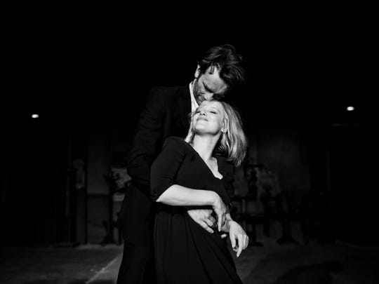 "Tomasz Kot as Wiktor and Joanna Kulig as Zula in ""Cold War."""